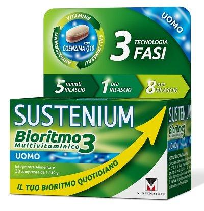 SUSTENIUM BIORITMO3 UOMO 30CPR