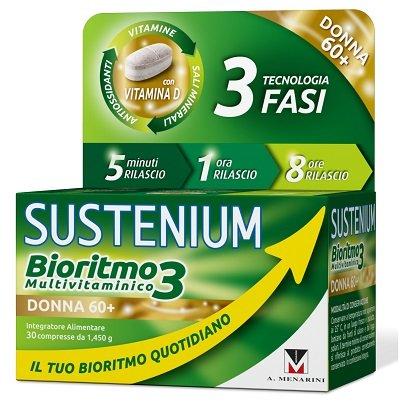 SUSTENIUM BIORITMO3 DONNA 60+ 30CPR