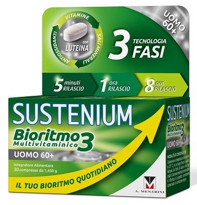 SUSTENIUM BIORITMO3 UOMO60+ (30 COPRESSE)