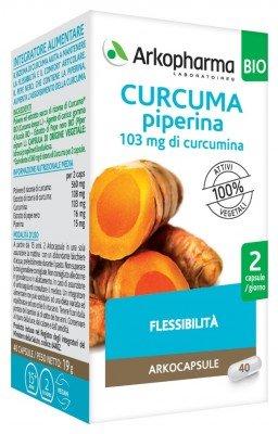ARKOFARMA CURCUMA+ PIPERINA BIO CAPSULE