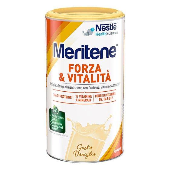 Meritene Forza e Vitalità Vaniglia 270 g Proteico