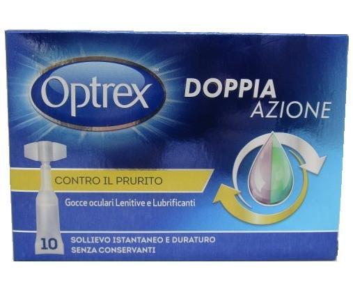 OPTREX DOPPIA AZIONE LENITIVO E LUBRIFICANTE CONTRO IL PRURITO 10FLACONCINI