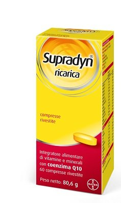 Supradyn Ricarica 60 Compresse Vitamine e Sali Manerali