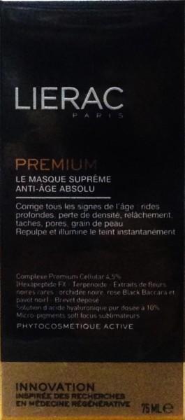 Lierac Premium Maschera Supreme Anti eta' Globale