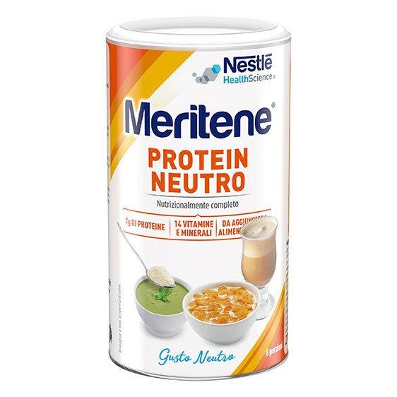 Meritene Protein Polvere 270 g Neutro Proteico