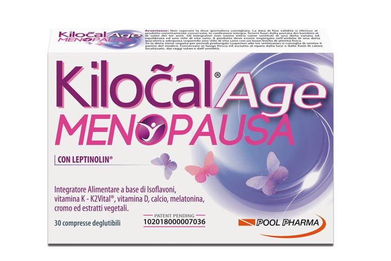 KILOCAL AGE MENOPAUSA 30CPR