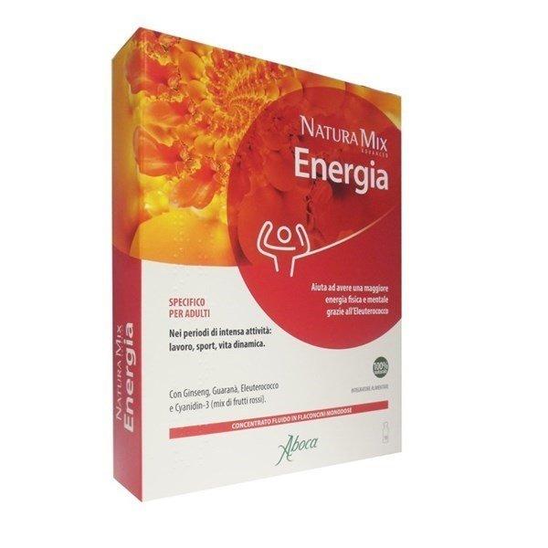 Aboca Natura Mix Advanced 10 Flaconcini Energetico