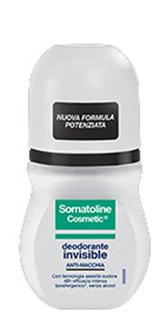 SOMATOLINE COSMETIC DEODORANTE INVISIBILE ANTI MACCHIA ROLL ON 50ML