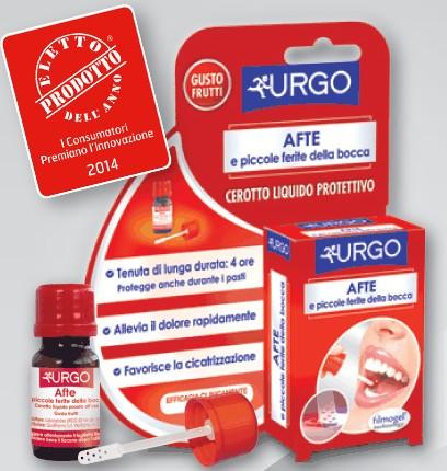 Urgo Cerotto liquido Protettivo Afte e piccole ferite della bocca