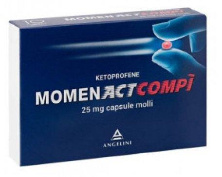 Momenact Compi 25 mg 10 Capsule Molli
