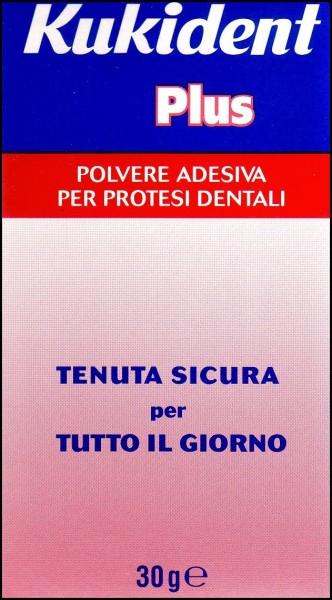 Kukident plus polvere adesiva per protesi dentali