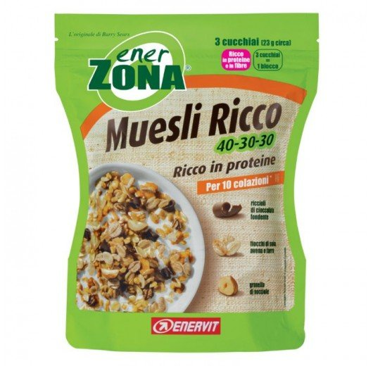 ENERZONA MUESLI RICCO DI PROTEINE 40-30-30 230G