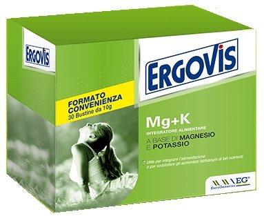 ERGOVIS integratore salino Magnesio e Potassio 30 bustine