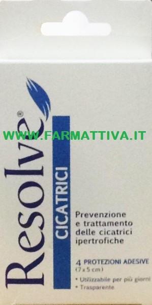 Pietrasanta Pharma Resolve cicatrici protezione adesiva (7 x 5 cm)