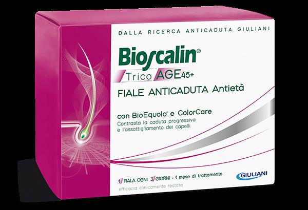 Bioscalin TricoAge 45+ 20 Fiale Anticaduta 2 Mesi Trattamento
