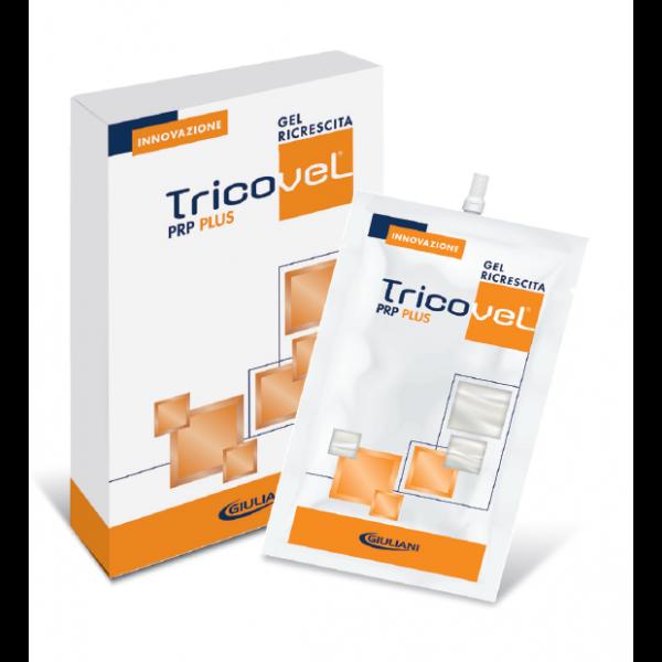 Tricovel PRP Plus Gel 2 Bustine Ricrescita Capelli