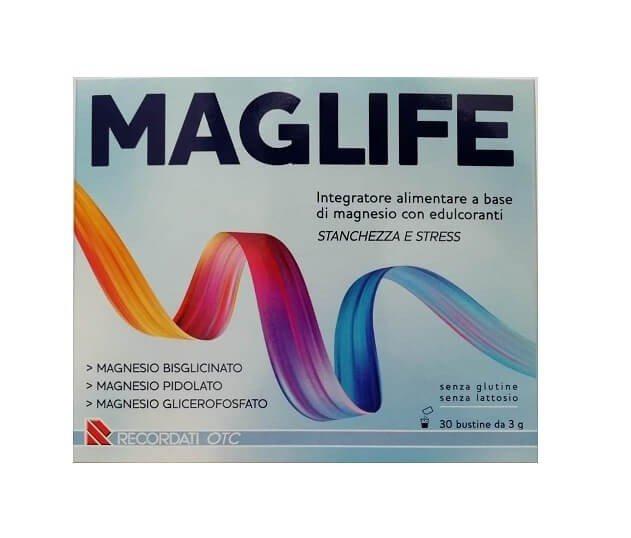 Maglife 30 Bustine Stanchezza e Stress