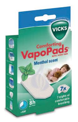 VICKS VAPOPADS MENTHOL 7Pezzi