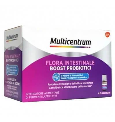 Multicentrum Duobiotico 8 Flaconcinni Benessere Intestinale