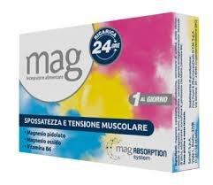 Mag Ricarica 24 Ore 10 Bustine Stanchezza