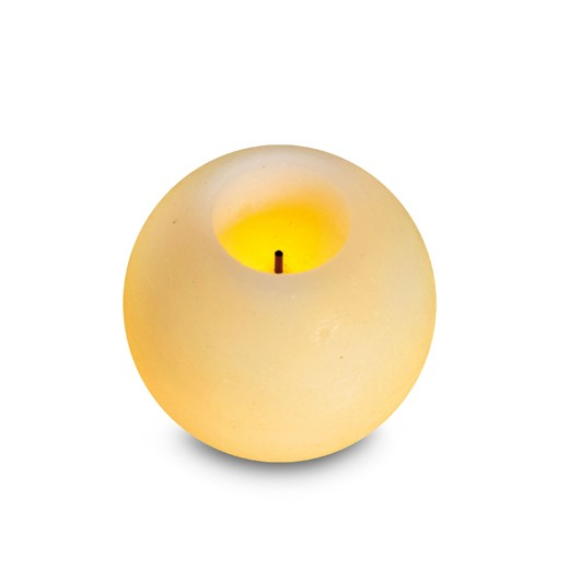 Innoliving Candela a led decorativa senza fiamma diametro 9 cm