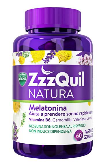 Zzzquil Natura 60 Pastiglie Gommose Sonno Migliore