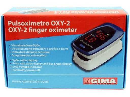 PULSOXIMETRO DA DITO OXY-2