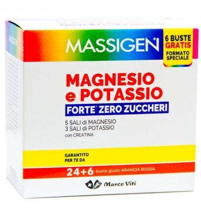 MASSIGEN MAGNESIO POTASSIO FORTE ZERO ZUCCHERI  24+6