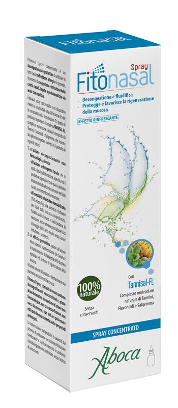 Aboca Fitonasal Spray Concentrato 30 ml Decongestionante