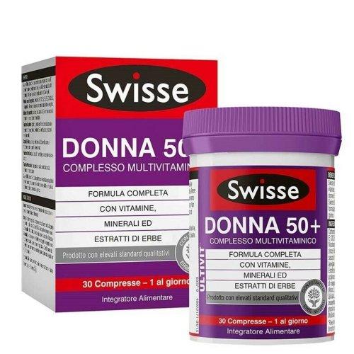 Swisse Donna 50+ Complesso Multivitaminico 30 Compresse
