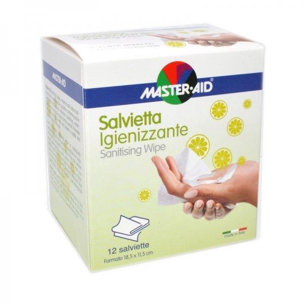 M-AID SALVIETTA IGIENIZZANTE EXTRA LARGE 34X14 CM 12 PEZZI