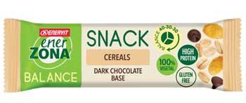 ENERZONA SNACK CEREALS barretta ai cereali con gocce di cioccolato fondente 25G