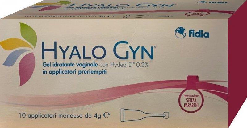 HYALO GYN GEL 10 APPLICATORI MONODOSE