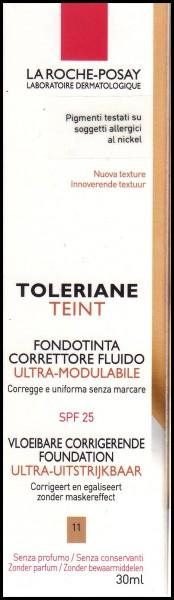 La Roche Posay Toleriane Fondotinta correttore fluido colore 11 beige clair