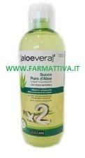 Zuccari Aloe vera 2 Succo puro di Aloe a doppia concentrazione