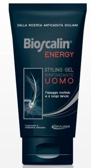 BIOSCALIN ENERGY STYLING GEL RINFORZANTE UOMO 150ML
