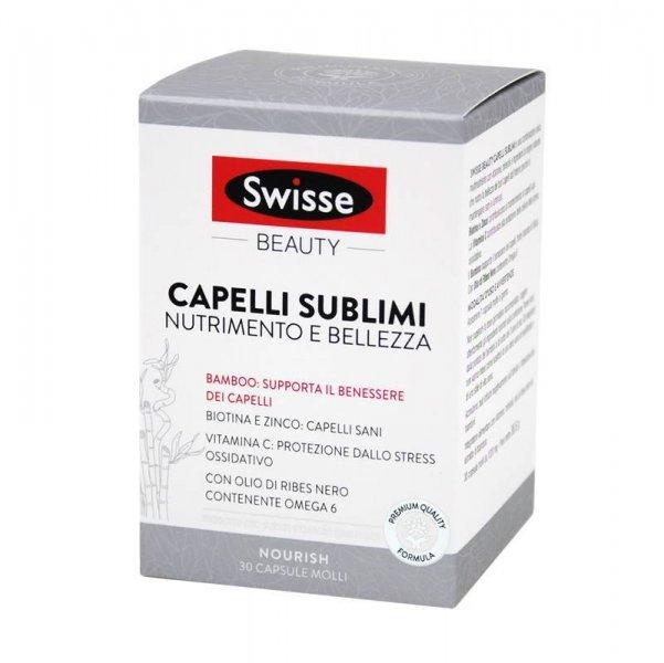 Swisse Beauty Capelli Sublimi Nutrimento e Bellezza 30 Capsule