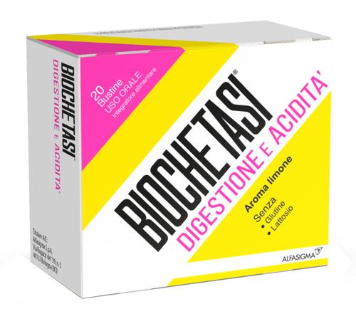 Biochetasi Digestione e Acidità Granulato Effervescente 20 Bustine