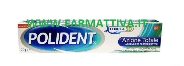 Polident Azione Totale Tenuta 3D crema adesiva per protesi dentale