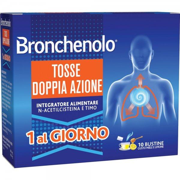 BRONCHENOLO TOSSE DOPPIA AZIONE 10BUSTINE