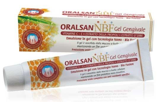 Oralsan NBF gel gengivale con tecnologia nano