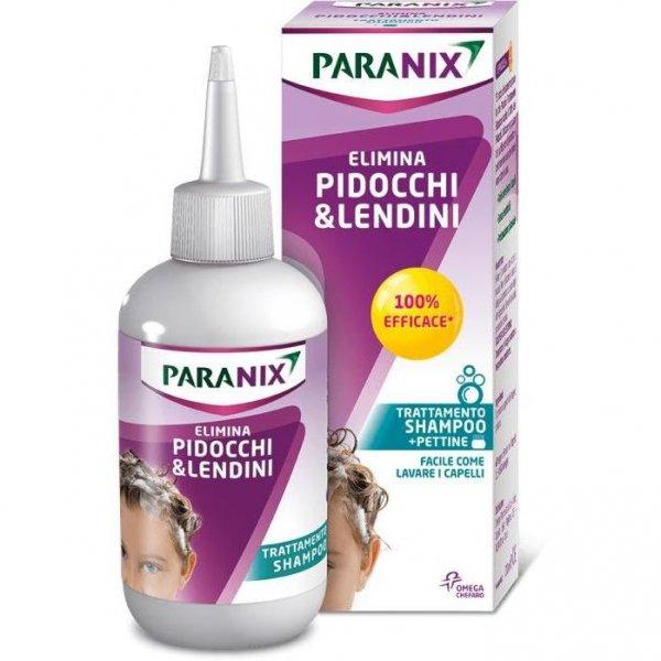 PARANIX SHAMPOO ELIMINA PIDOCCHI E LENDINI 200ML + PETTINE