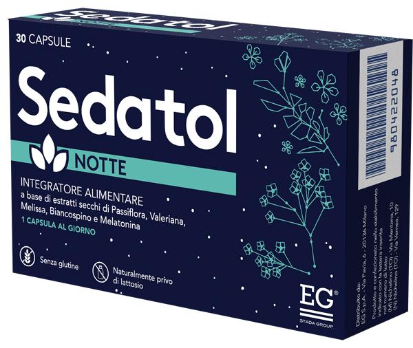Sedatol Notte 30 Capsule Insonnia