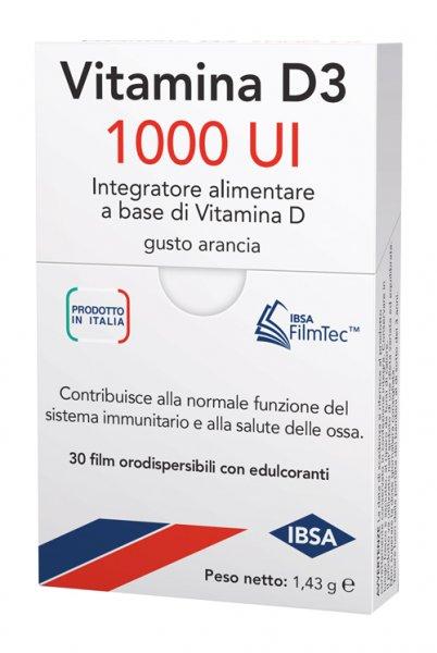 Ibsa Vitamina D3 1000UI 30Film