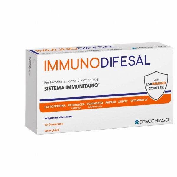 Specchiasol Immuno Difesal 15 Compresse Sistema Immunitario