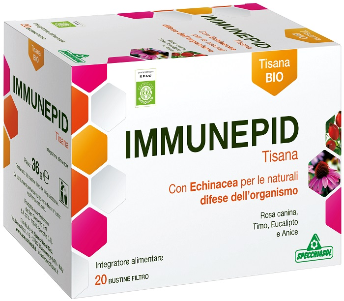 Specchiasol Immunepid Tisana 20 Bustine