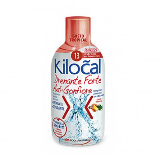 Kilocal Drenante Forte Anti Gonfiore Tropical 500 ml Depurativo