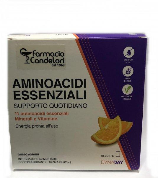 Farmacia Candelori Aminoacidi Essenziali 18 Buste Energetico