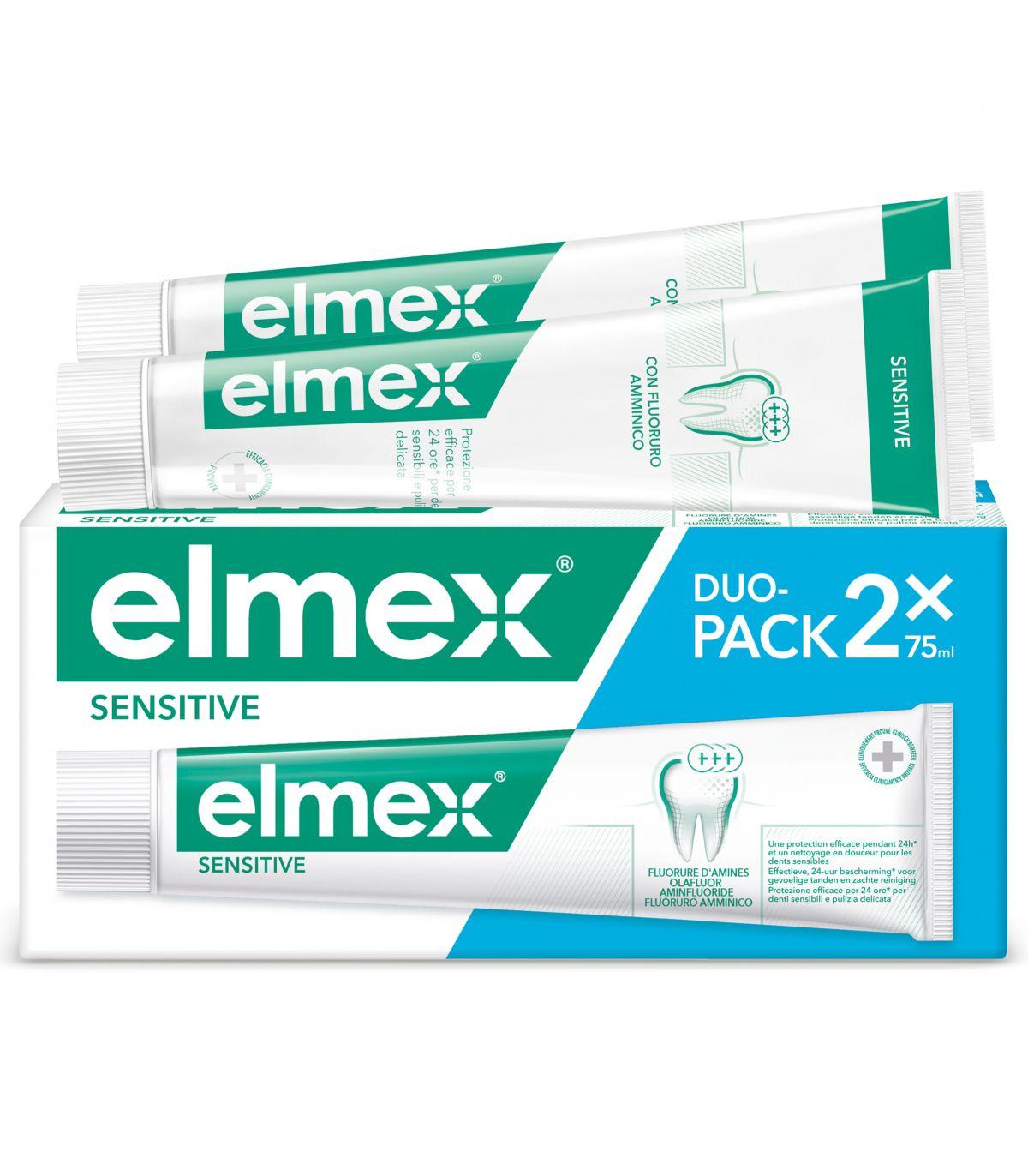Elmex Sensitive Dentifricio 100 ml + Elmex Collutorio 100 ml Denti Sensibili
