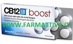 CB12 Boost Chewing gum Alito Sicuro